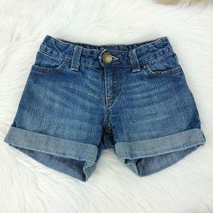 GAP   Girl's Blue Denim Shorts